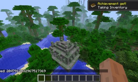 майнкрафт 1 9 0 ключ для генирації світу джунгли #1