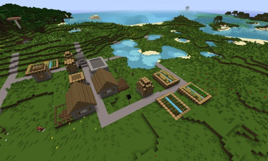 Как найти деревню в MInecraft - ru.wikihow.com