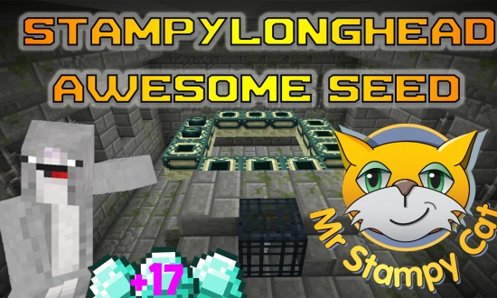 StampyLonghead111  MINECRAFT SEED StampyLonghead111