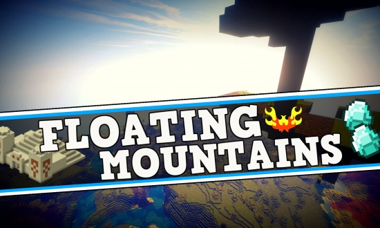 NATURAL SKYBLOCK + FLOATING MOUNTAINS - Minecraft Seeds