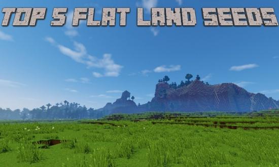 Top 5 flat land minecraft seeds minecraft seeds gumiabroncs Choice Image