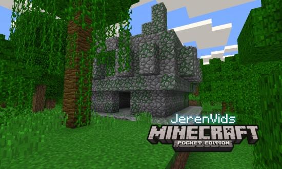 minecraft pe seeds jungle village