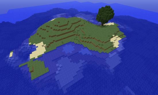 Survival Island Seed 1 11 2 - Minecraft Seeds