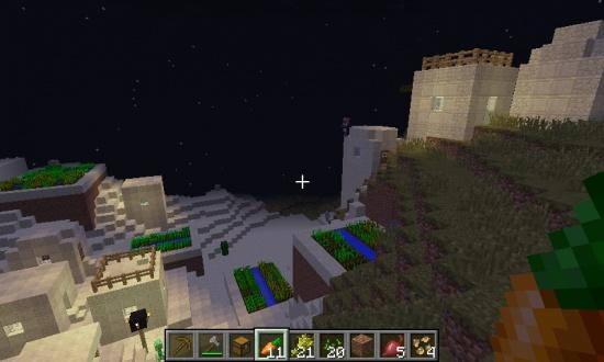 Acacia And Desert Village Minecraft Seeds