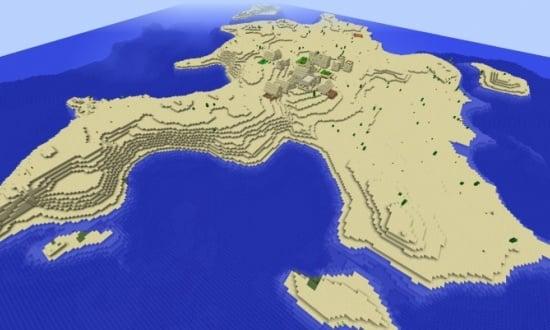 minecraft 1.7 10 huge village seed