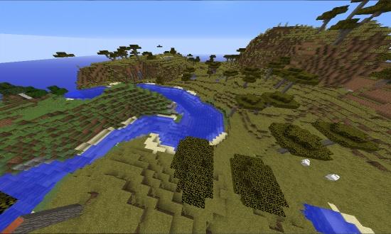 Huge Village - Minecraft Seeds