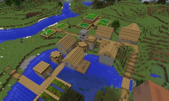 Large Plains Village Seed - Minecraft Seeds