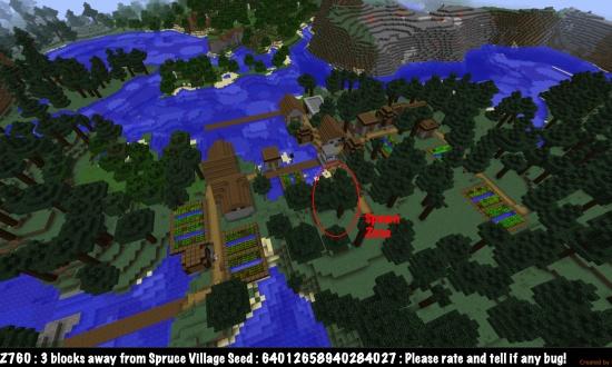 minecraft seeds xbox 360 village