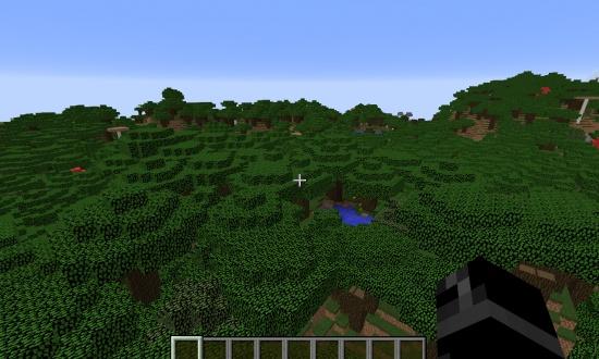 Very Large Dark Oak Forest Minecraft Seeds