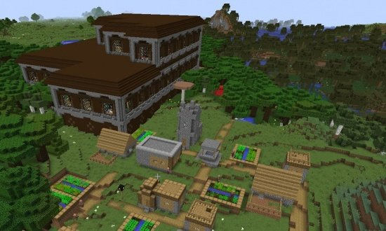 Mansion Minecraft Seed by repherb