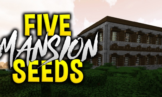 5 Mansion Seeds! - Minecraft Seeds