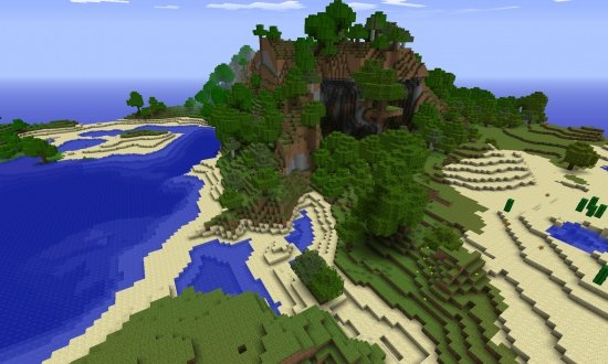 Redstone Minecraft Seeds - Minecraft hauser map