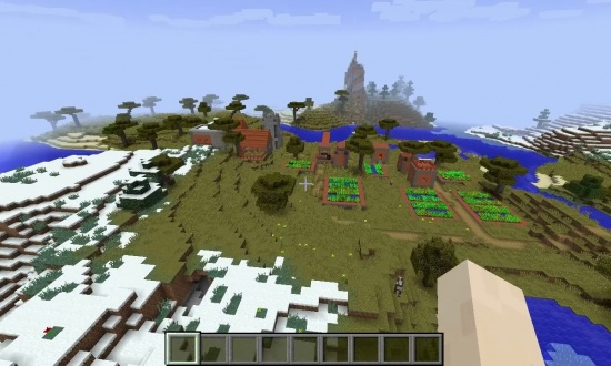 biome and village