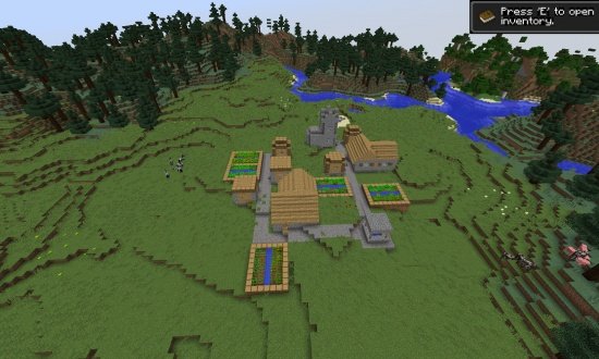 Top 5 Flat Land Minecraft Seeds Minecraft Seeds