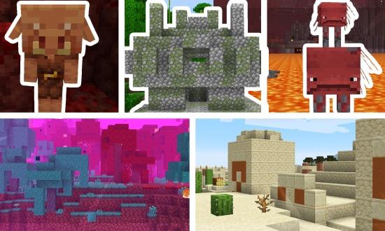 5 Minecraft 1 16 Seeds 20w19a Minecraft Seeds