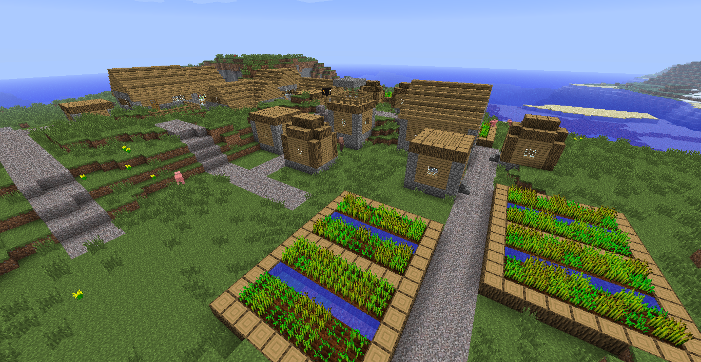 Minecraft Village Garden unique minecraft village garden layout google search on ideas
