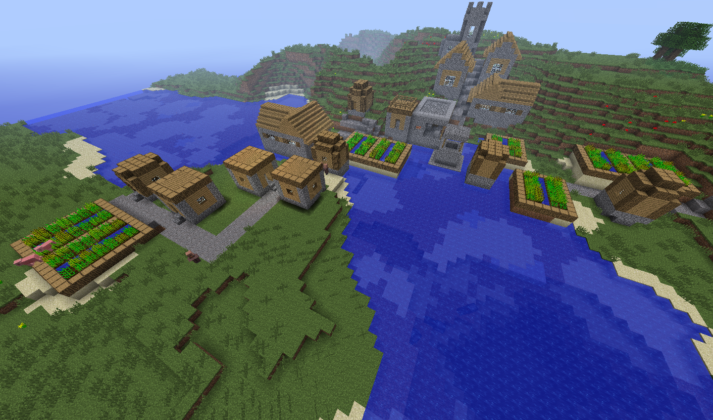 One Big Anvil Minecraft Seeds
