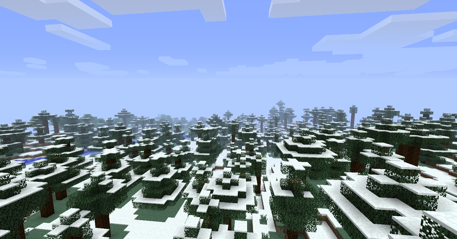Amplified spruce village at spawn - Minecraft Seeds