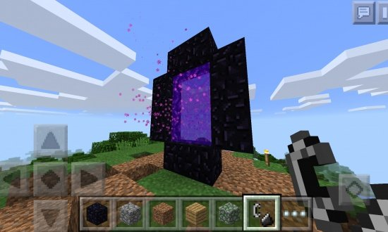 how to make a teleporter in minecraft pocket edition
