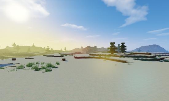 Large Snow Flat Lands Minecraft Seeds