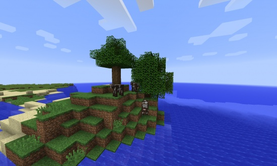 Survival Cow island - Minecraft Seeds