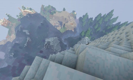 Huge Snow Mountain - Minecraft Seeds