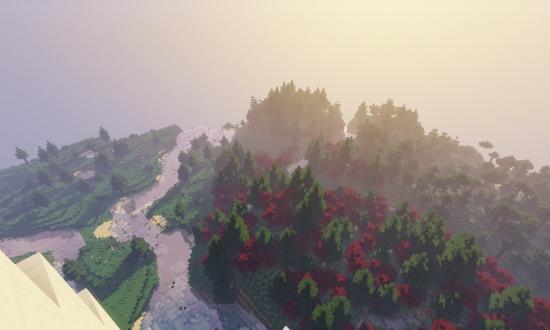 Huge Snow Mountain Minecraft Seeds