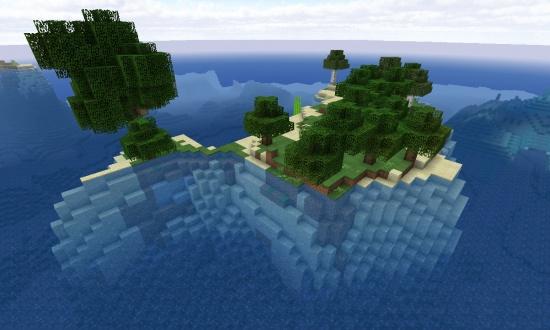 Top 5 Survival Island Seeds Minecraft Seeds