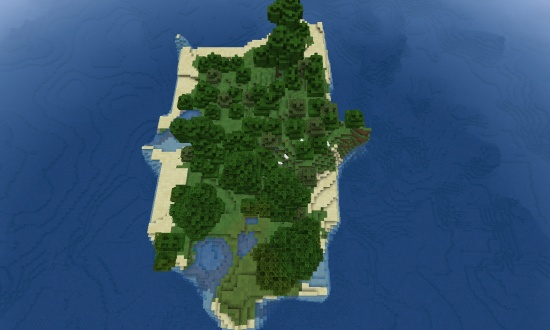 Top 5 Survival Island Seeds - Minecraft Seeds