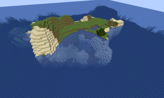 Medium 1 Tree Survival Island - Minecraft Seeds