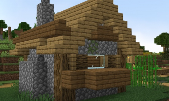 Witch Hut Seed Inside Of A Village Building Minecraft Seeds